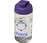 H20 Triathlon 500ml Flip Top Printed Water Bottle