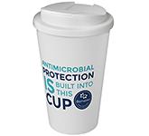 Americano 350ml Antimicrobial Take Away Mugs - Spill Proof Lid