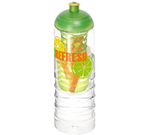 H20 Waterfall 750ml Domed Top Fruit Infuser Sports Bottle