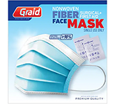 Fibre Surgical Face Mask With Cleansing Wipes