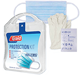 Anti Bacterial Kit With Face Mask & Cleansing Wipes