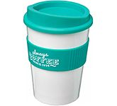 Americano Medio Grip 325ml Take Away Mug - White