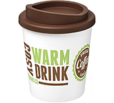 Americano Espresso 250ml Take Away Mugs - White