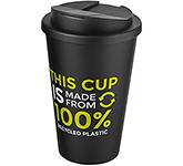 Americano Recycled 350ml Take Away Mug - Spill Proof Lid