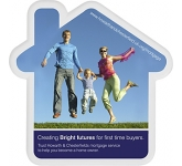House Shaped Acrylic Coaster