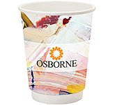 Double Walled Cubano Paper Cup - Full Colour - 340ml