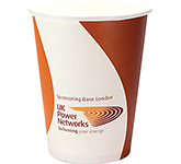 Single Walled Barista Paper Cup - Full Colour - 340ml