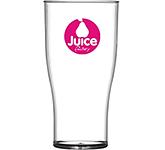 Reusable Plastic Half Pint Beer Glass - 284ml