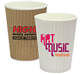 Rippled Java Paper Cup - 340ml