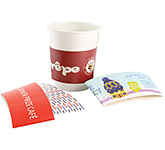 Full Colour Paper Cup Sleeves - 240-300ml