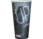 Single Walled Barista Paper Cup - Full Colour - 568ml