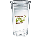Festival Disposable PET Plastic Smoothie Cup - 600ml