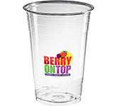 Festival Disposable PET Plastic Smoothie Cup - 500ml
