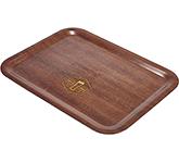 Sherwood Mahogany Veneer Wooden Serving Tray - 460 x 340 mm