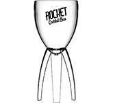 Reusable Polycarbonate Rocket Glass - 312ml