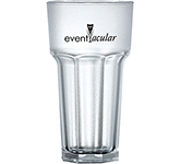 Remedy Frosted Reusable Polycarbonate Tumbler - 340ml