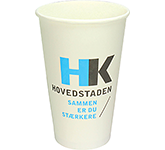 Enviro Recyclable Single Walled Paper Cup - Full Colour - 455ml