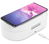 UV Sterilising Box With Wireless Charger