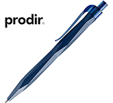 Prodir QS20 Peak Pen - Matt Transparent Clip