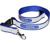 10mm Reflective Polyester Lanyard