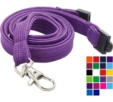 10mm Tube Polyester Lanyards