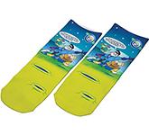 Dye Sublimation Kids Socks - Short
