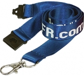20mm Flat Weave Nylon Lanyards