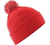 Beechfield Snowstar Bobble Beanie Hat