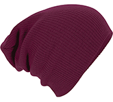 Beechfield Slouch Knitted Acrylic Beanie
