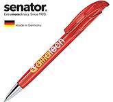 Senator Challenger Deluxe Pen - Clear