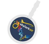 ColourBrite Circular Luggage Tag