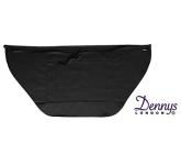 Dannys Wrap Over Waist Black Apron