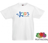 Fruit Of The Loom Value Weight Kids T-Shirts - White