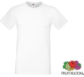Fruit Of The Loom Sofspun T-Shirts - White