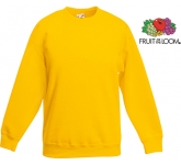 Fruit Of The Loom Children's Classic Set-In Sweatshirt