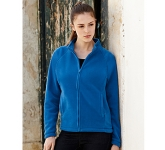 Fruit Of The Loom Lady-Fit Full Zip Fleece Jacket