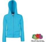Fruit Of The Loom Premium Lady-Fit Zipped Hoodie