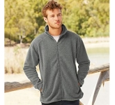 Fruit Of The Loom Mens Full Zip Fleece Jacket
