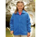 Fruit Of The Loom Kids Full Zip Fleece Jacket
