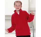 Jerzees Schoolgear Kids Quarter Zip Fleece Sweatshirt
