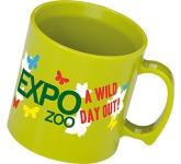 Printed Essential Plastic Mug