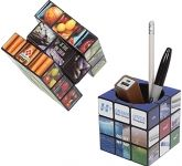 Rubik's Pen Pot