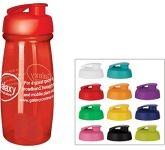 Splash 600ml Flip Top Shaker Ball Water Bottle