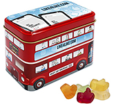 London Bus Sweet Tin - Kalfany Fruit Gums