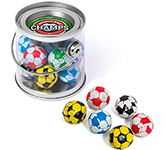 Mini Sweet Buckets - Chocolate Footballs