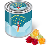 Small Sweet Paint Tin - Kalfany Fruit Gums