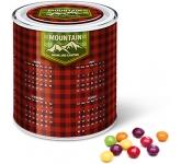 Large Sweet Paint Tin - Skittles