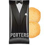 Snack Treat Bags - 2 x Mini Shortbread Biscuits