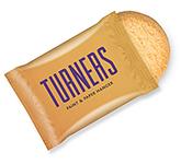 Snack Treat Bags - 1 x Mini Shortbread Biscuit