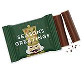 3 Baton Chocolate Bar - Christmas